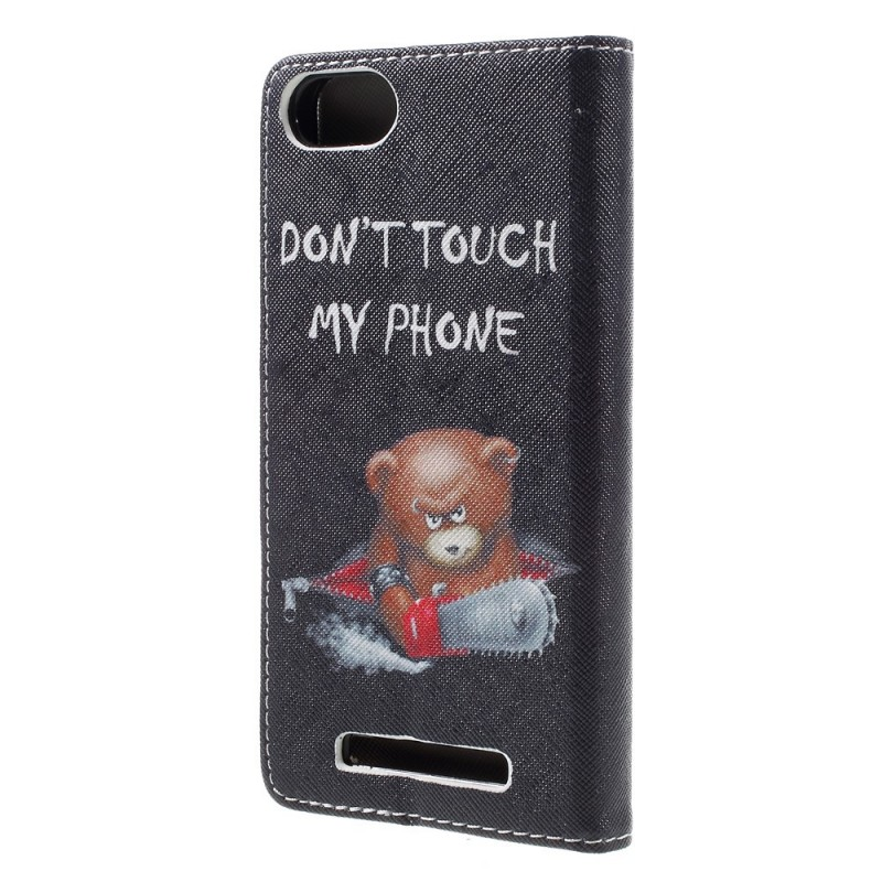 Housse wiko lenny 3 ours dangereux for Wiko lenny 3 housse