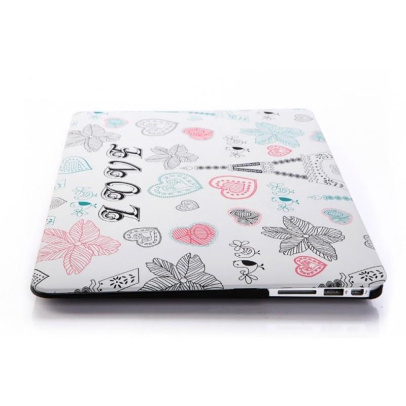 coque macbook air 11 pouces love paris. Black Bedroom Furniture Sets. Home Design Ideas
