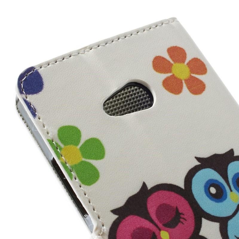 Housse microsoft lumia 640 famille de hiboux for Housse livret de famille