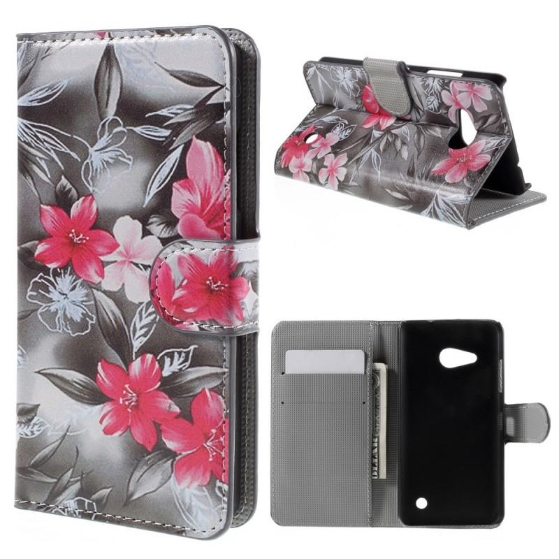 Housse microsoft lumia 550 tropical flowers for Housse lumia 550