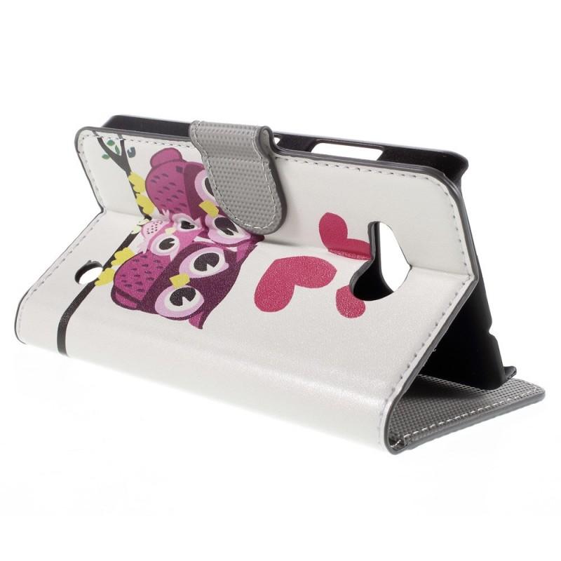 Housse microsoft lumia 550 famille de hiboux for Housse livret de famille