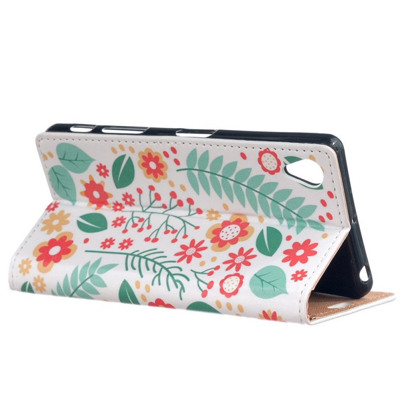 Housse sony xperia x printemps floral for Housse xperia x