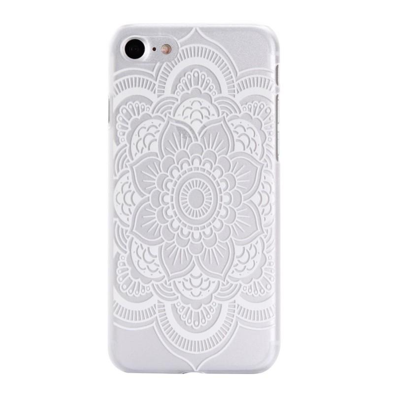coque iphone 7 mandala blanc
