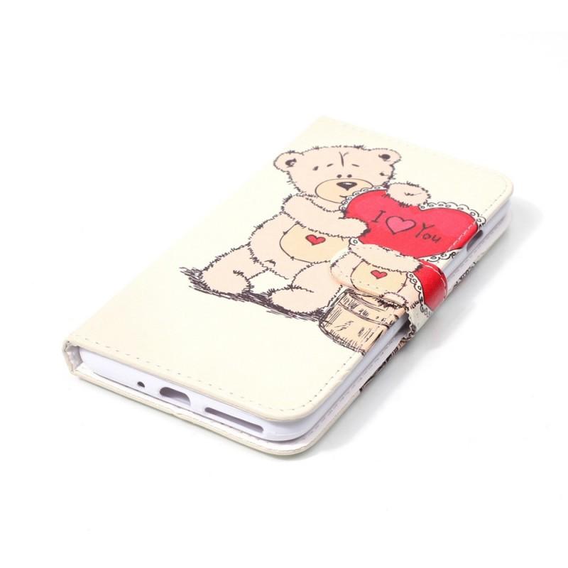 Housse iphone 7 plus 8 plus bear love for Housse iphone 7 plus