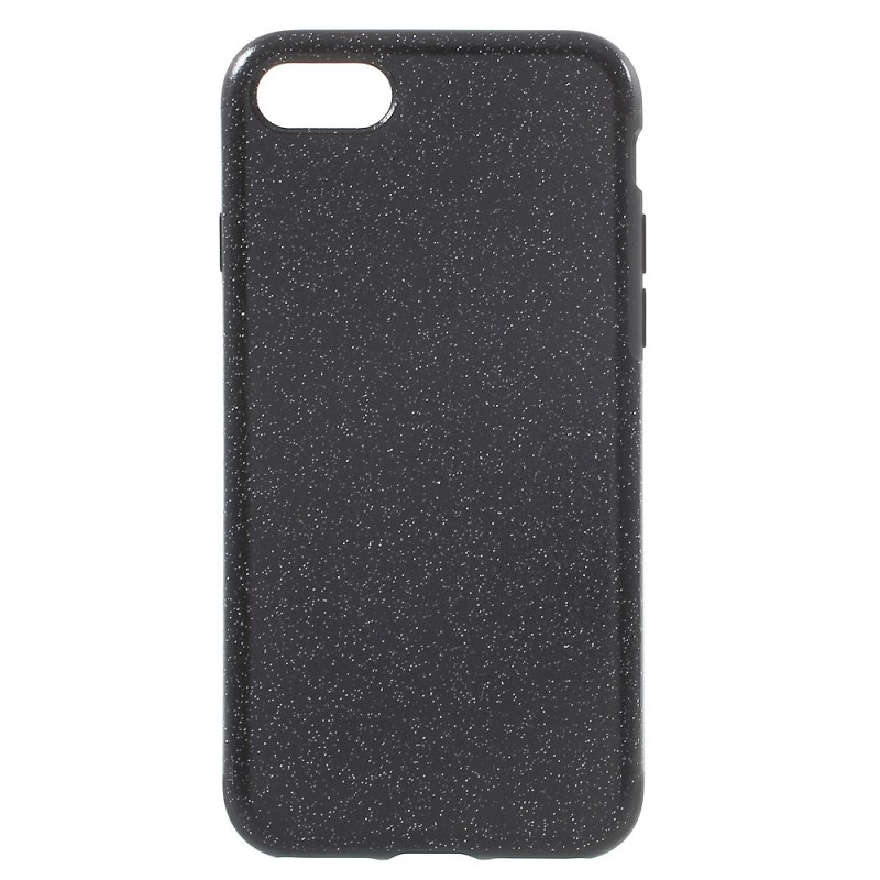 coque iphone 7 noir paillette