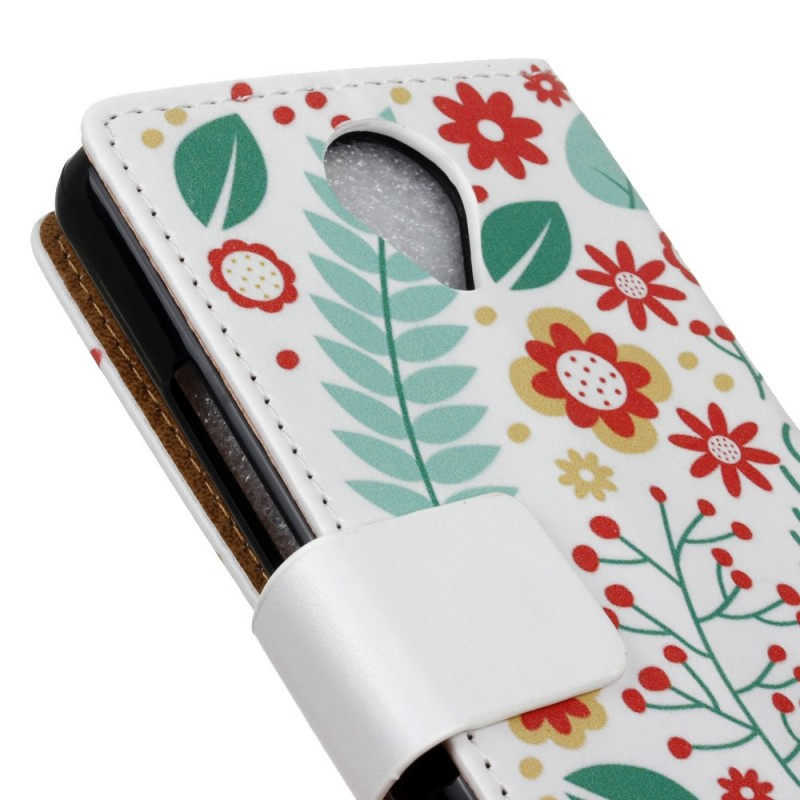 Housse wiko u feel printemps floral for Housse wiko ufeel