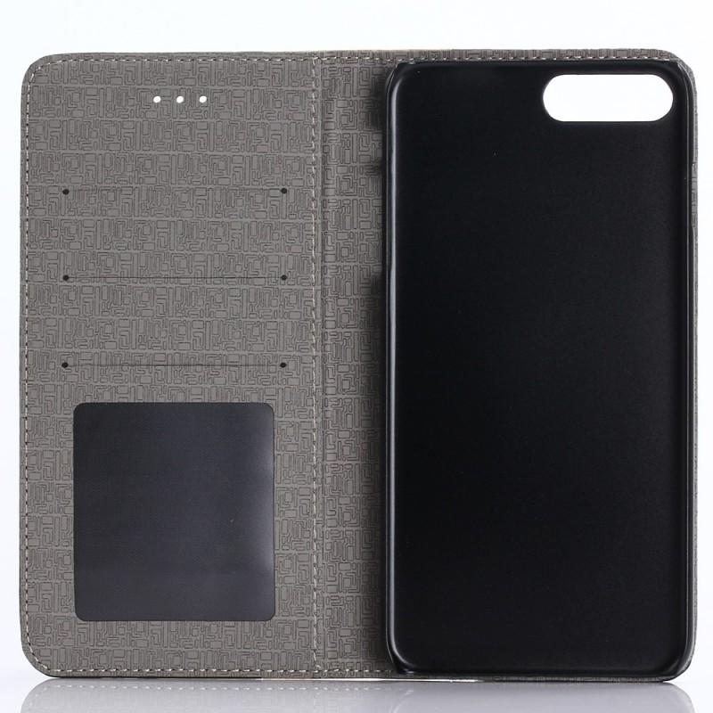 Housse iphone 7 plus 8 plus effet bois bicolore for Housse iphone 7 plus