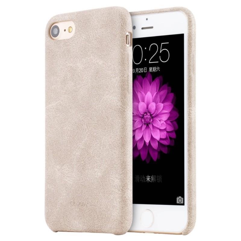 coque cuir iphone 7 plus beige