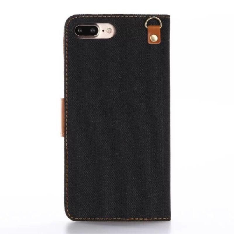 Housse Iphone 7 Plus 8 Plus Bicolore Tissu