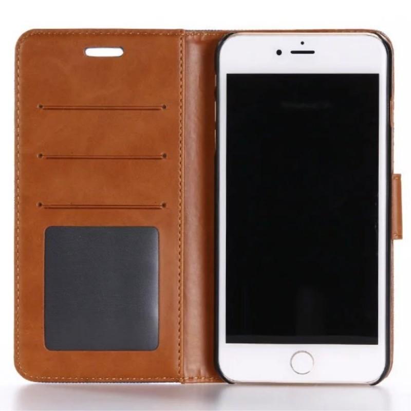 Housse Iphone 7 Plus Bicolore Tissu