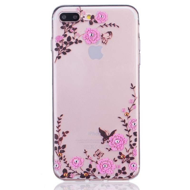 coque iphone 8 plus fleuri