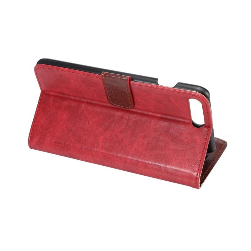 Housse iphone 7 plus 8 plus effet cuir r tro for Housse iphone 7 plus cuir