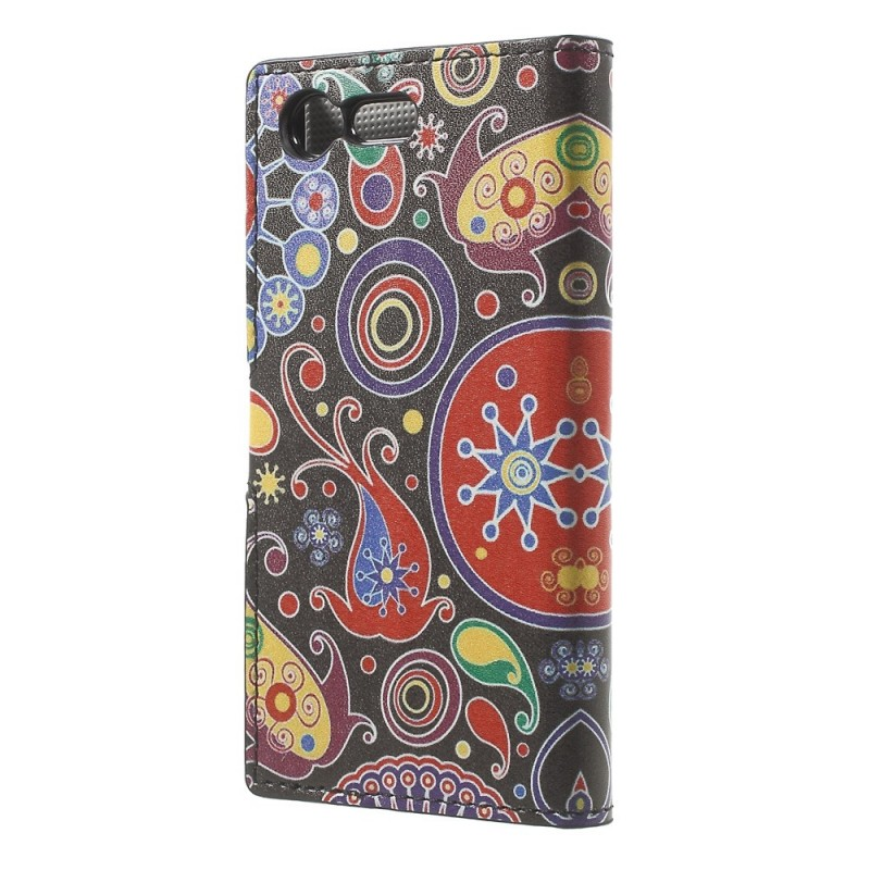 Housse sony xperia x compact design galaxie for Housse sony xperia x