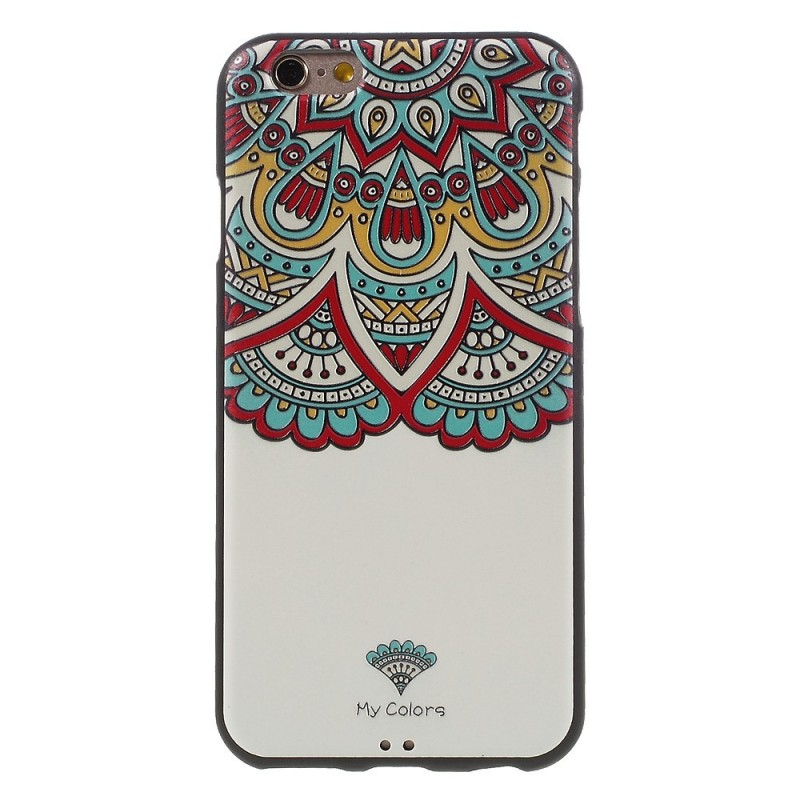 coque iphone 6 mandala couleur