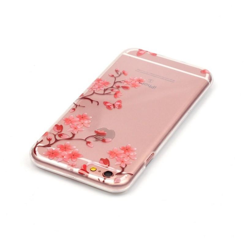 coque iphone 5 fleuri