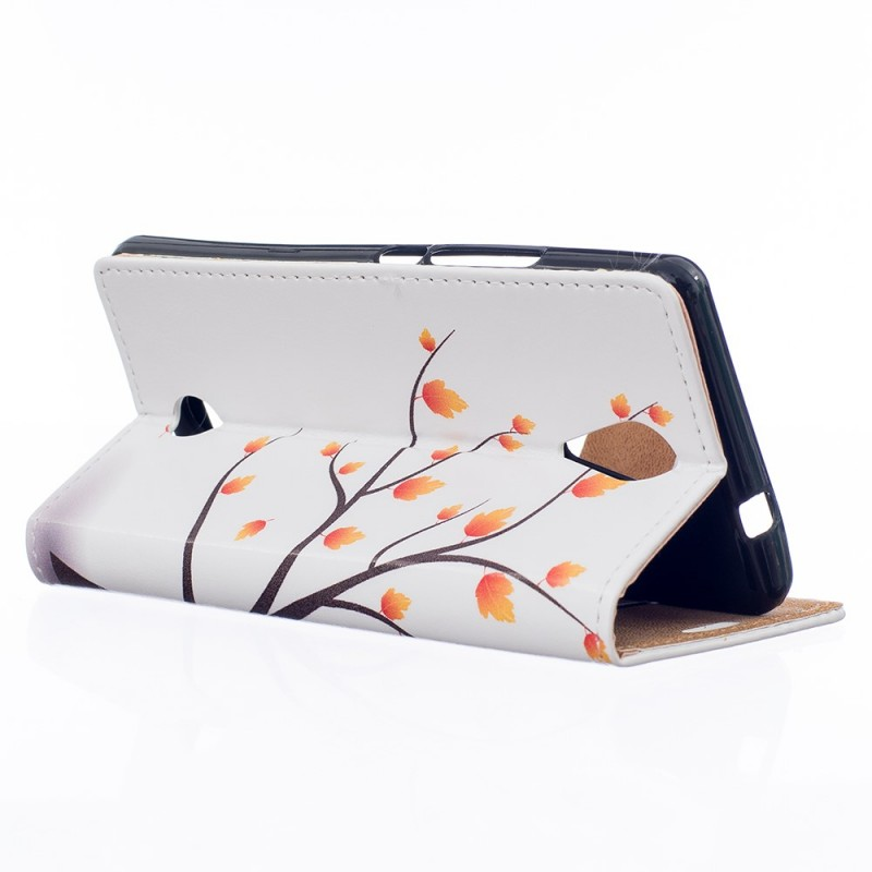 Housse wiko tommy arbre fleuri for Housse wiko tommy 2