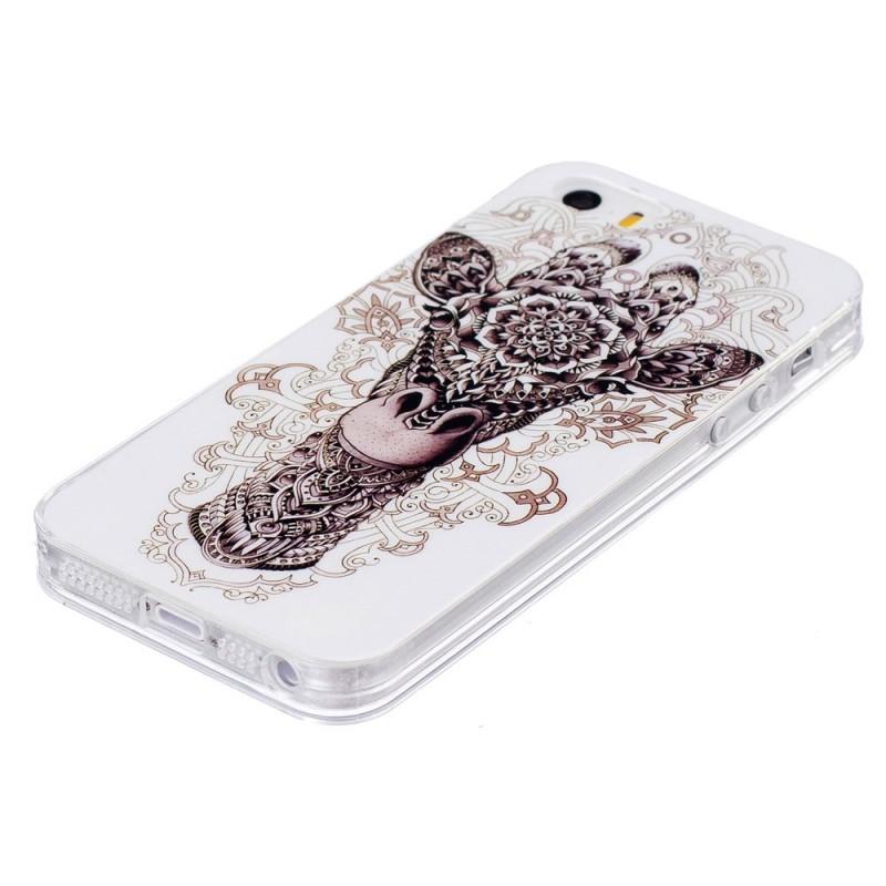 coque iphone 5 girafe