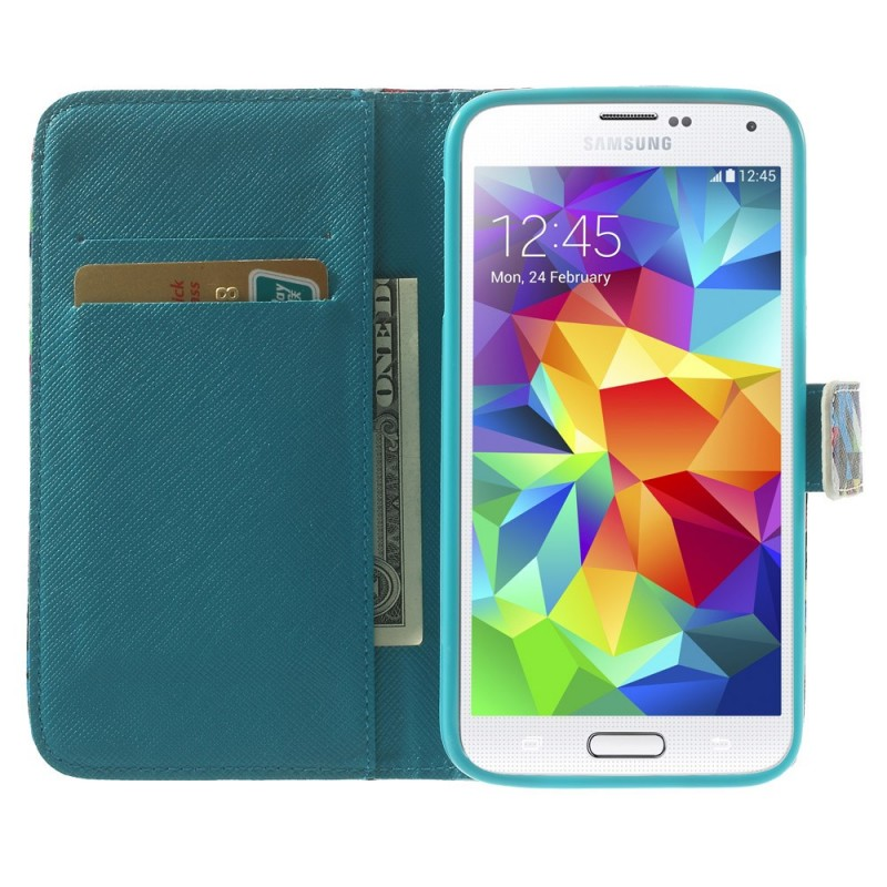 Housse samsung galaxy s5 colorful for Housse samsung s5