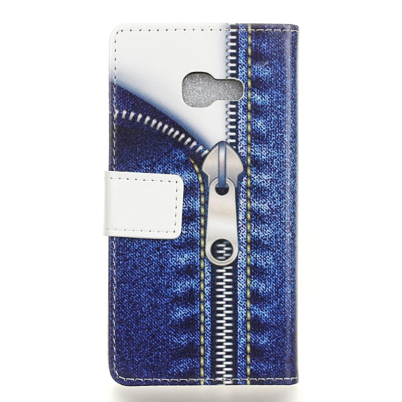 Housse samsung galaxy a3 2017 fermeture jeans for Housse samsung a3