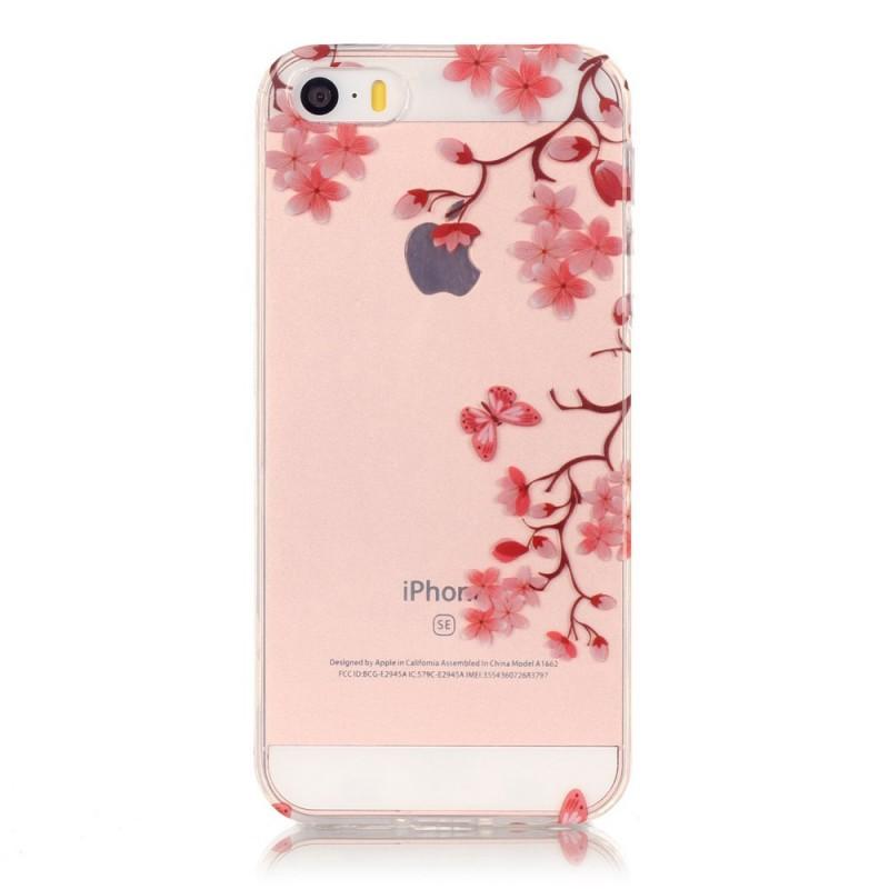 Coque Iphone S Fleur