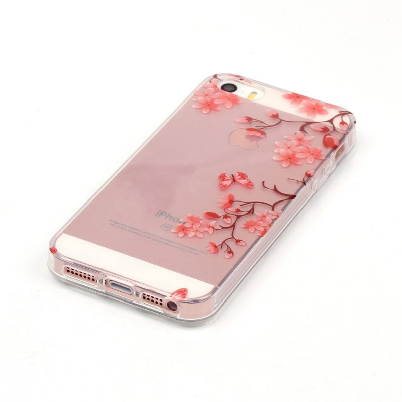 coque iphone 5 fleuri