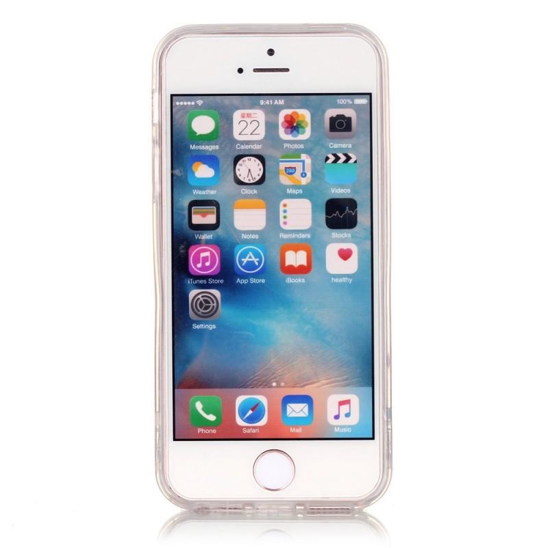 Coque iPhone SE/5/5S Transparente Attrape Rêves Coloré