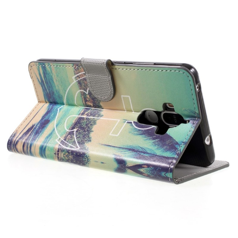 Housse huawei mate 9 ancre tropicale for Housse huawei mate 9