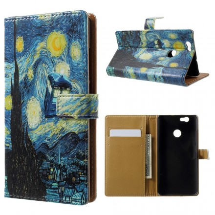 housse huawei nova la nuit toil e de van gogh. Black Bedroom Furniture Sets. Home Design Ideas