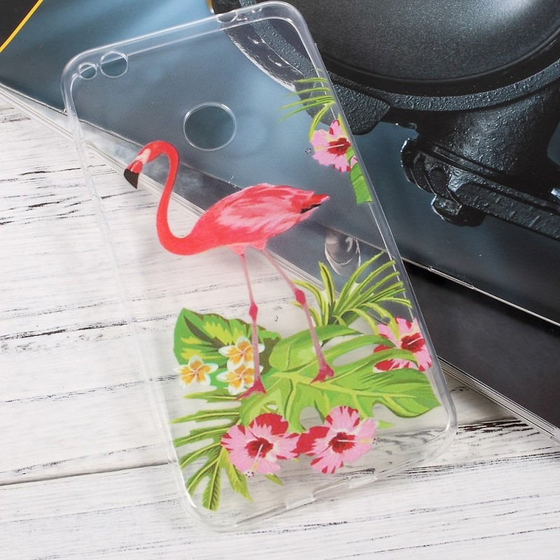 coque huawei p8 lite 2017 flament rose