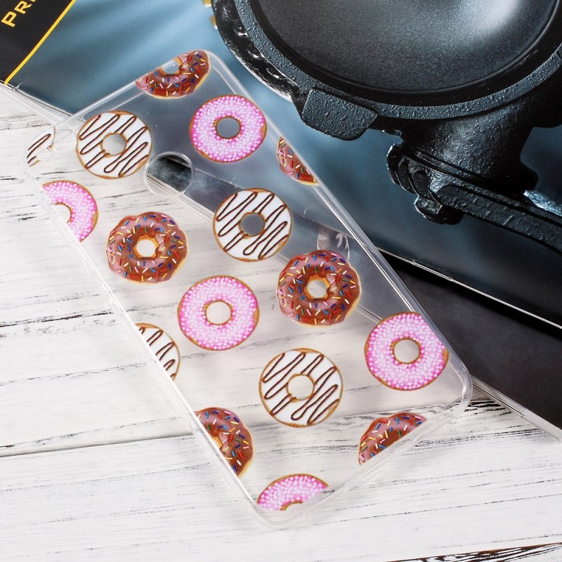 coque donuts huawei y6 2017