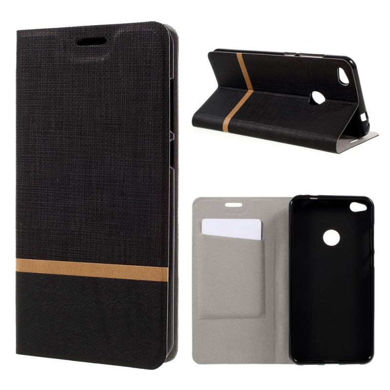 flip cover huawei p8 lite 2017 duo line. Black Bedroom Furniture Sets. Home Design Ideas