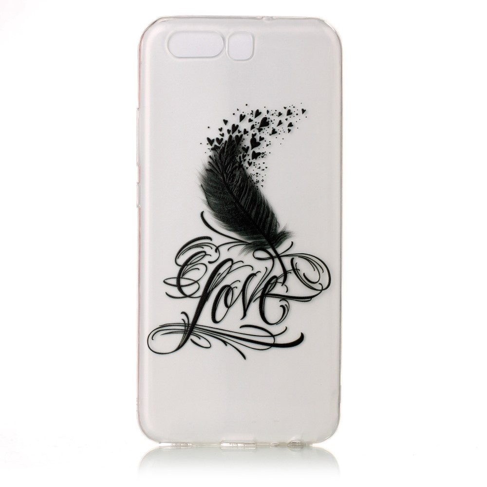 coque huawei p10 plumes