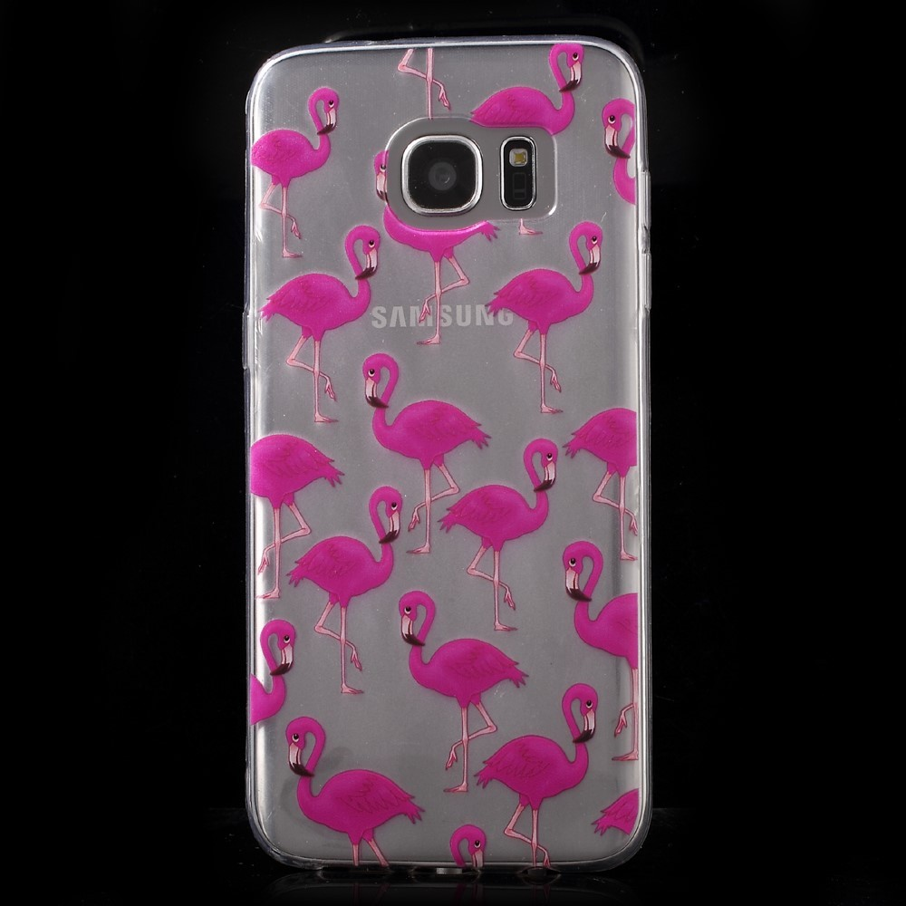 Coques Et Accessoires Samsung Galaxy S7 Edge Ma Coque Goospery Lg G7 Thinq Plus Style Lux Jelly Case Green Flamants Roses