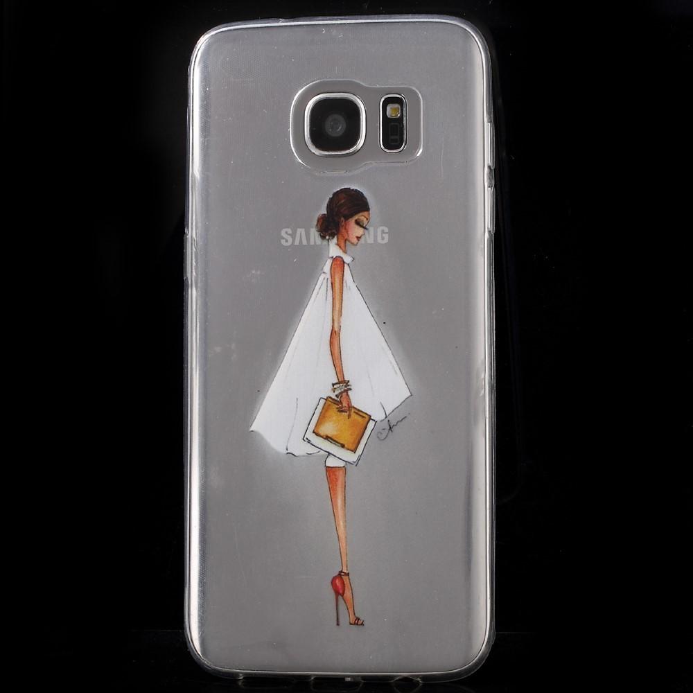 Coques Et Accessoires Samsung Galaxy S7 Edge Ma Coque Goospery Lg G7 Thinq Plus Style Lux Jelly Case Green Femme Lgante