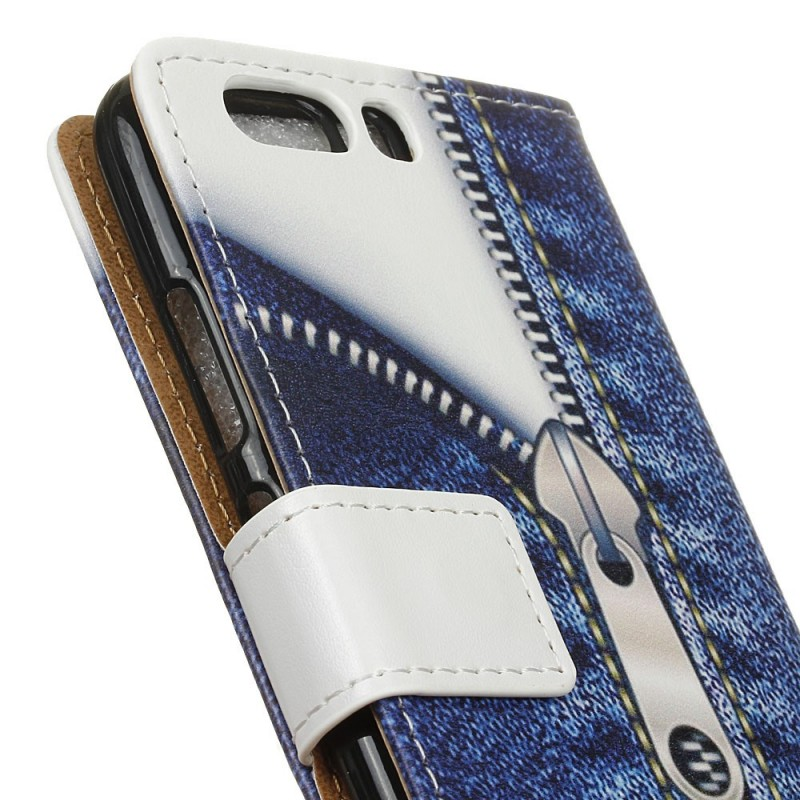 Housse huawei p10 fermeture jeans for Housse huawei p10