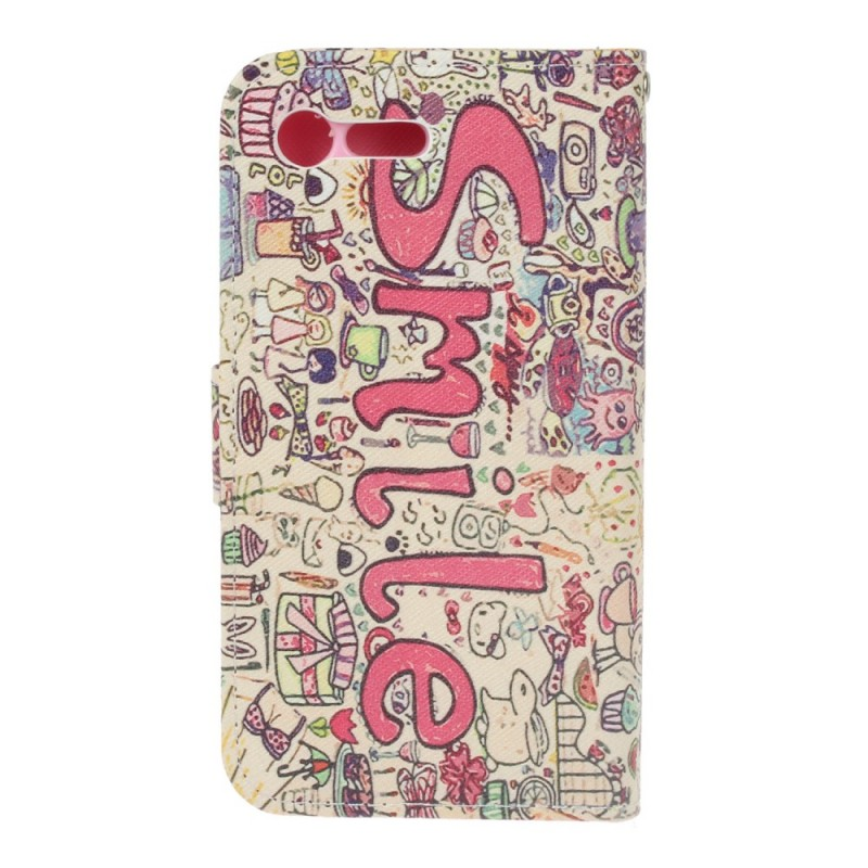 Housse sony xperia x compact smile cartoon for Housse sony xperia x
