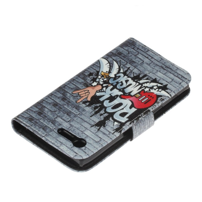 Housse sony xperia x compact rock music for Housse xperia x