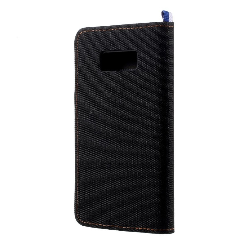 Housse samsung galaxy s8 bicolore flip for Housse samsung galaxy s