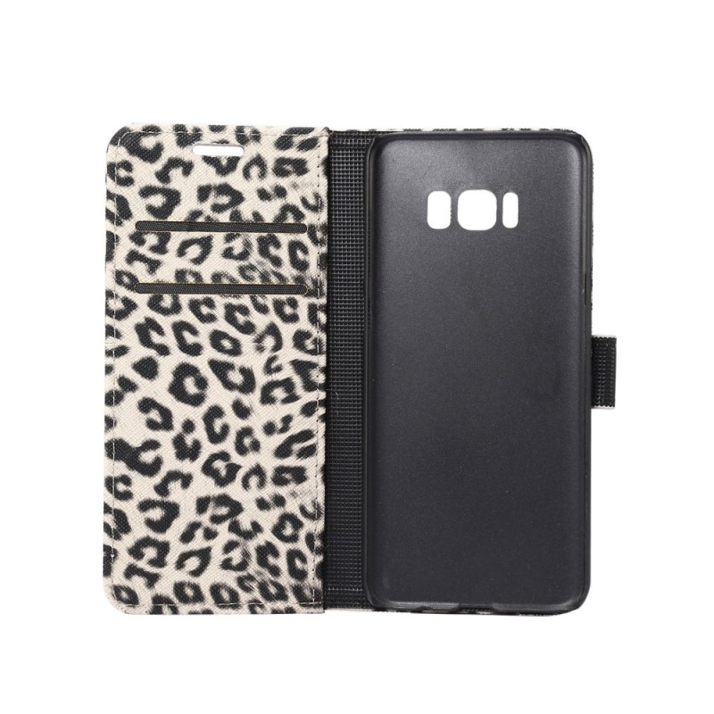 Housse samsung galaxy s8 l opard for Housse samsung s8
