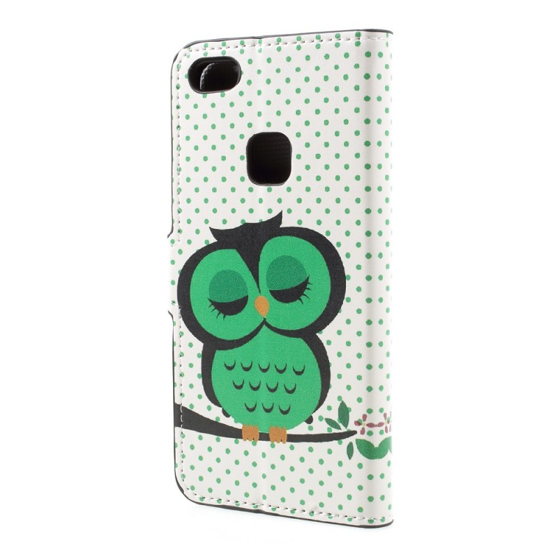 Housse huawei p10 lite hibou endormi for Housse huawei p10