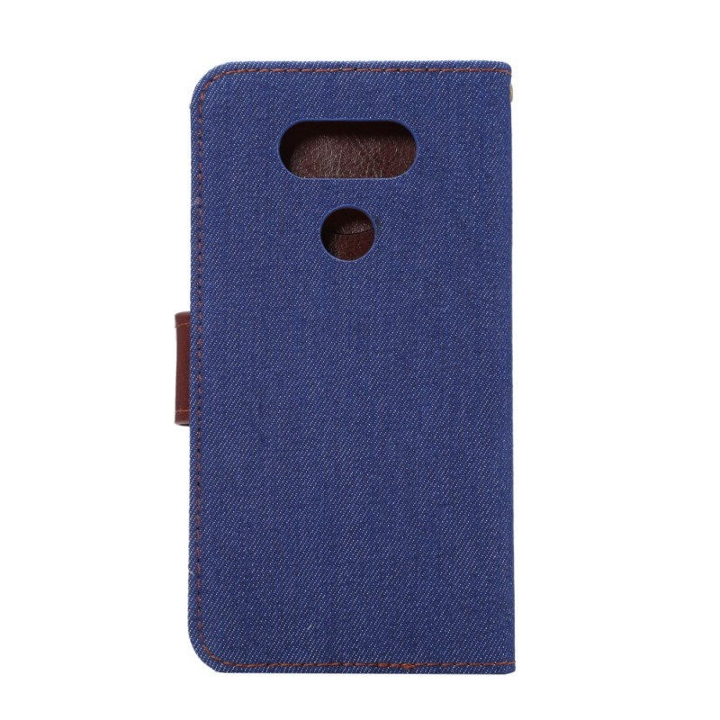 Housse lg g6 bicolore jeans for Housse lg g6