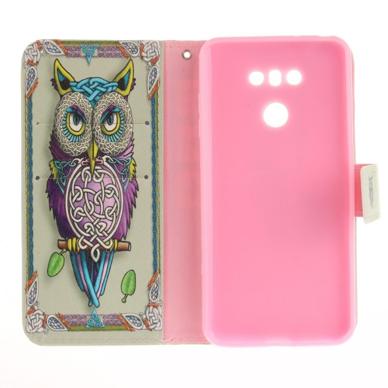 Housse lg g6 hibou tribal for Housse lg g6