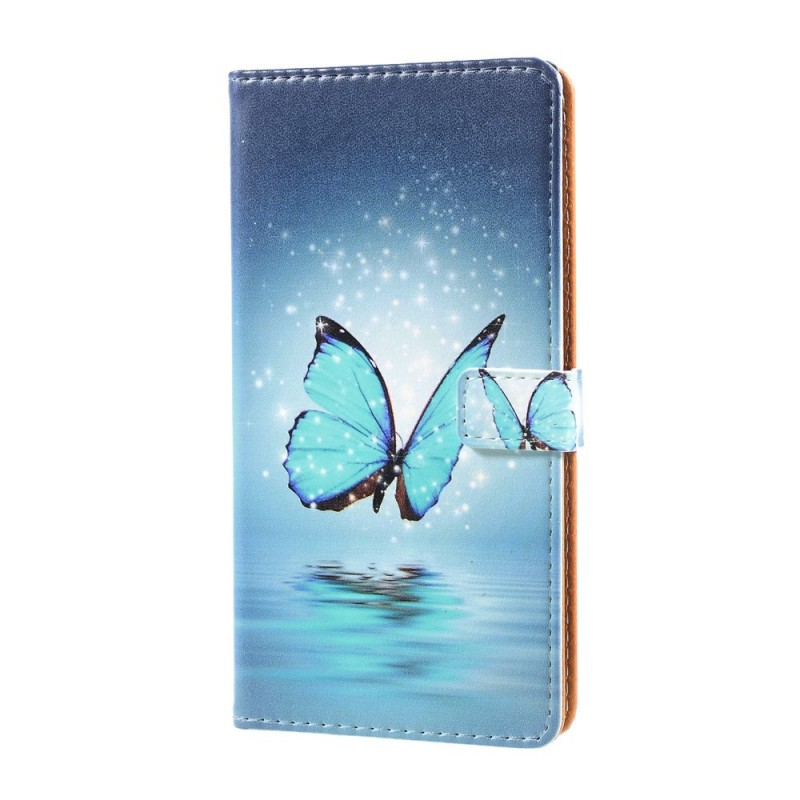 Housse sony xperia xz premium papillon volant for Housse volant