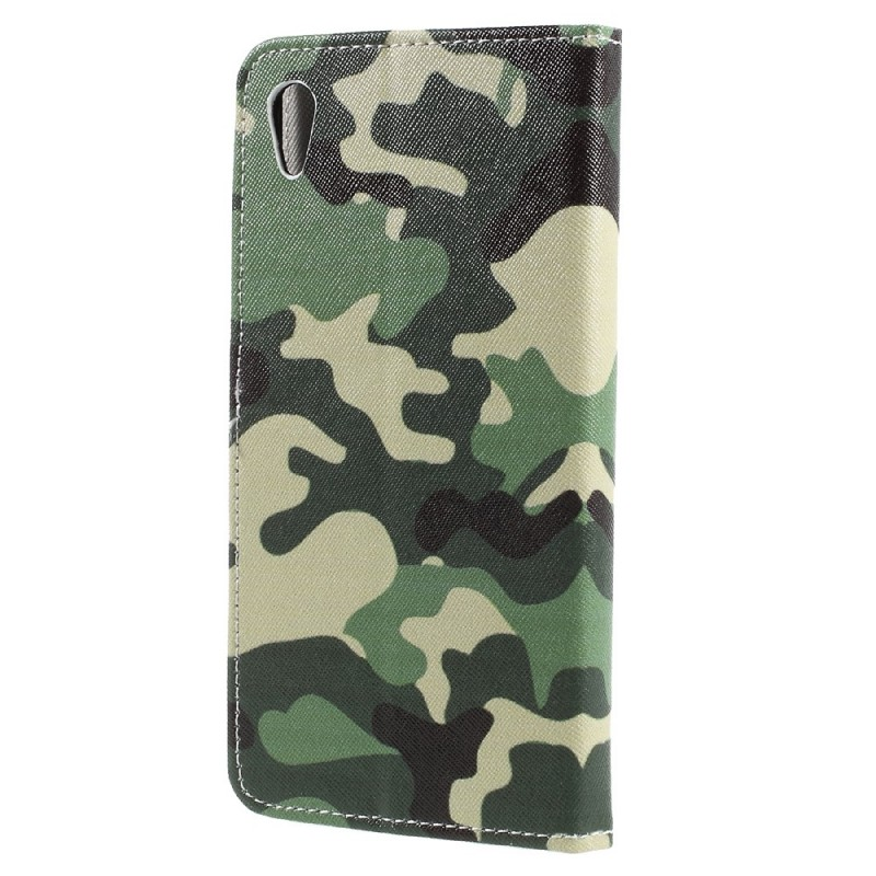 Housse sony xperia xa ultra camouflage militaire for Housse xa1 ultra