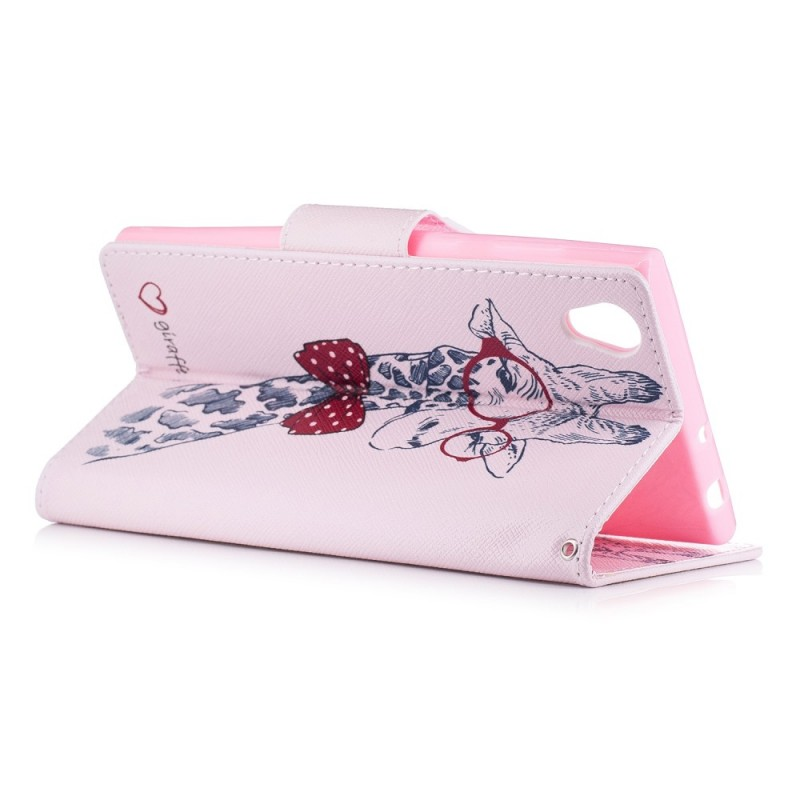 Housse sony xperia l1 girafe intello for Housse xperia l1
