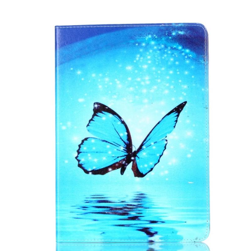Housse ipad pro 10 5 pouces papillon bleu for Housse ipad pro 10 5