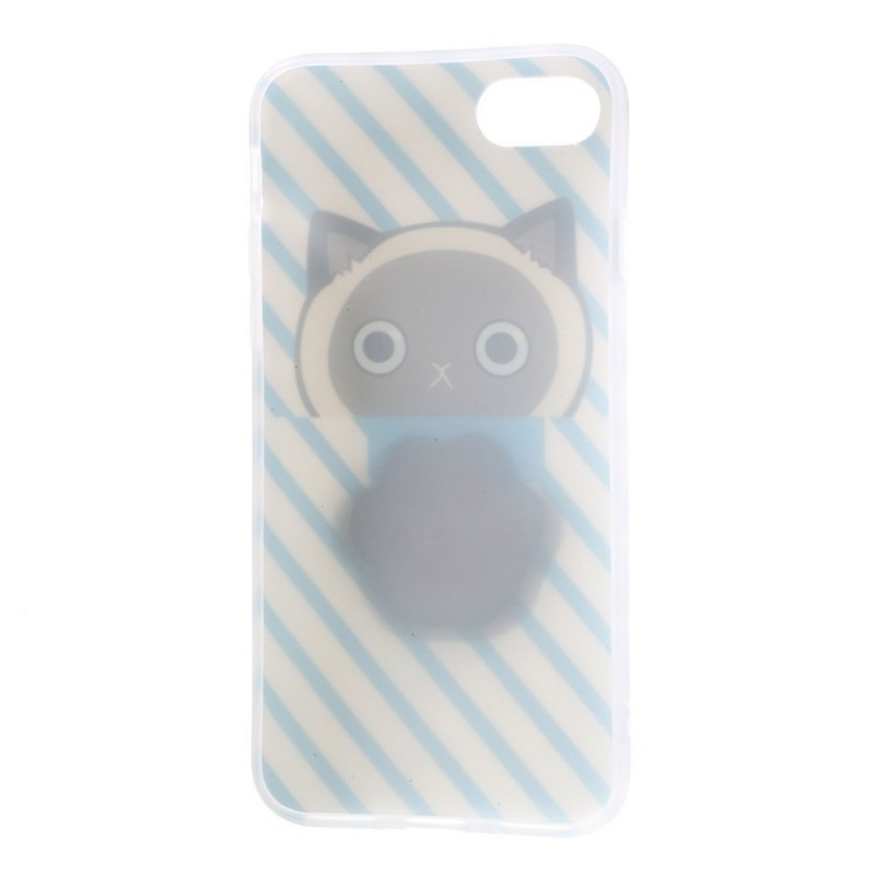 Favori iPhone 7 Bloup 3D - Pâte de Chat KG51
