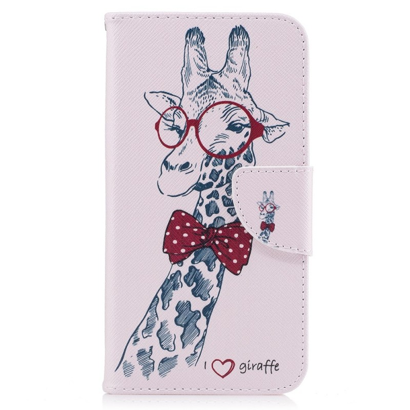 housse samsung galaxy xcover 4 girafe intello