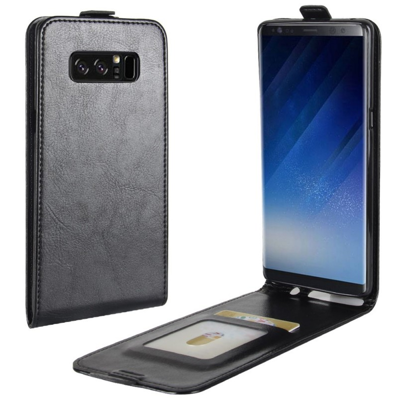 Housse samsung galaxy note 8 rabattable effet cuir for Housse galaxy note 8
