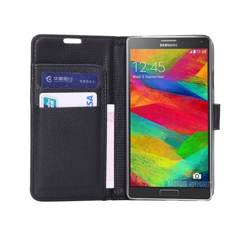 Housse samsung galaxy note 4 effet cuir for Housse samsung galaxy note